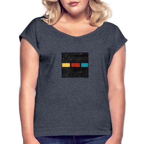 Boxed 015 - Frauen T-Shirt mit gerollten Ärmeln