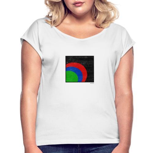 Boxed 001 - Frauen T-Shirt mit gerollten Ärmeln