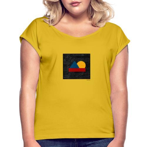 Boxed 014 - Frauen T-Shirt mit gerollten Ärmeln