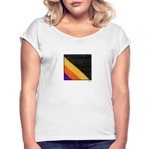Boxed 002 - Frauen T-Shirt mit gerollten Ärmeln