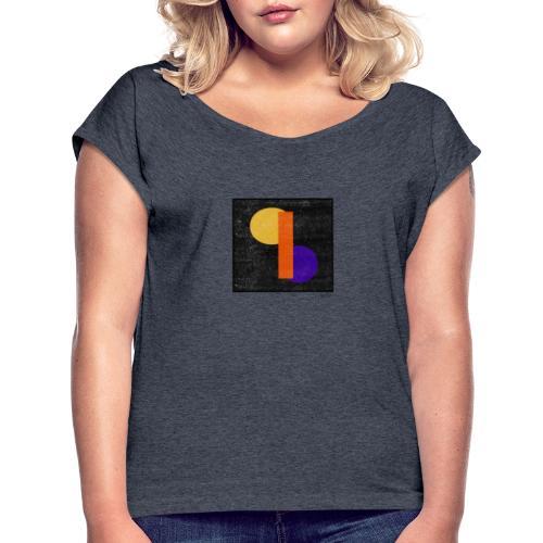 Boxed 012 - Frauen T-Shirt mit gerollten Ärmeln