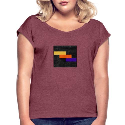 Boxed 07 - Frauen T-Shirt mit gerollten Ärmeln
