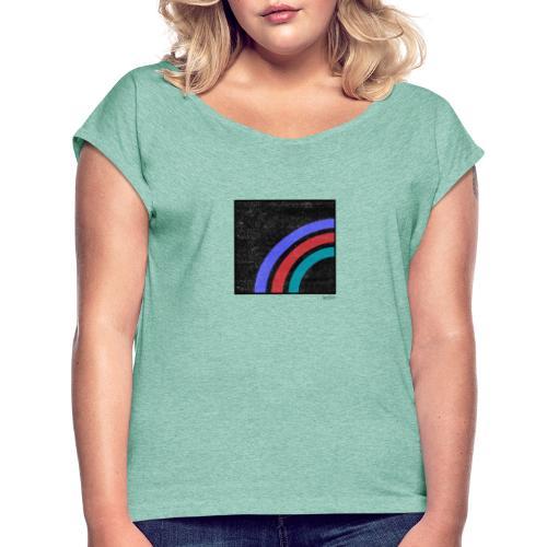 Boxed 013 - Frauen T-Shirt mit gerollten Ärmeln