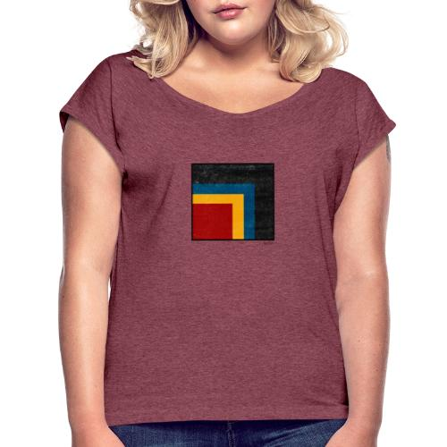 Boxed 004 - Frauen T-Shirt mit gerollten Ärmeln