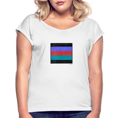 Boxed 003 - Frauen T-Shirt mit gerollten Ärmeln