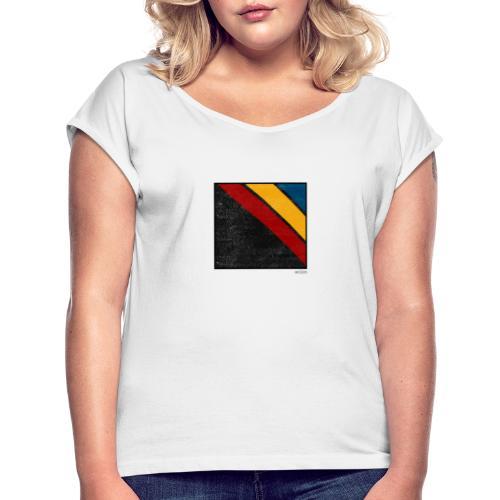 Boxed 009 - Frauen T-Shirt mit gerollten Ärmeln