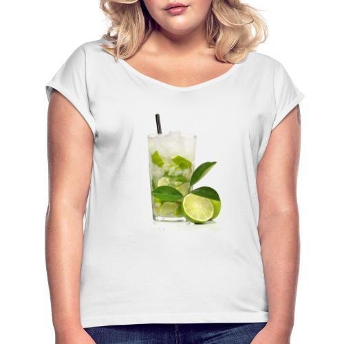 Caïpirinha - Women's T-Shirt with rolled up sleeves