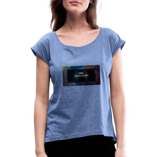 ODL - Frauen T-Shirt mit gerollten Ärmeln