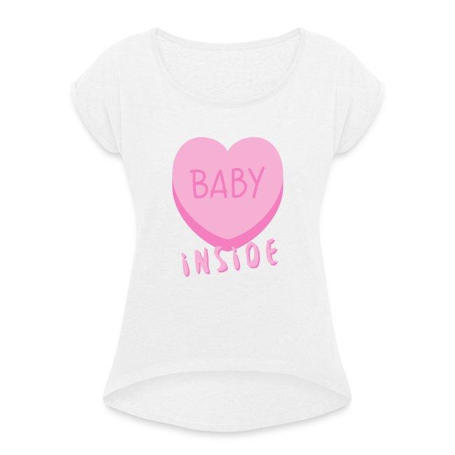 Baby Inside Pink Heart