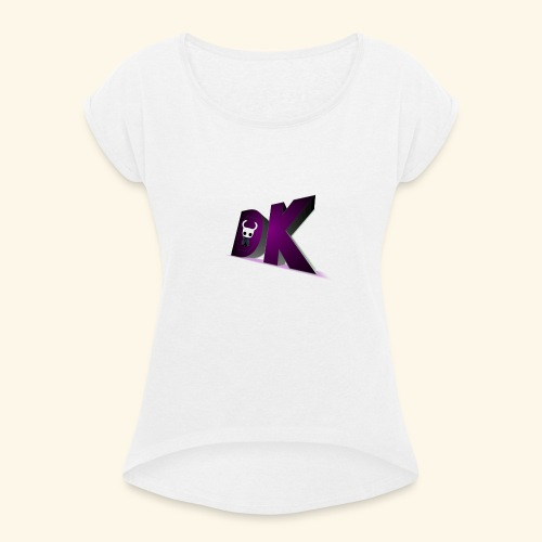 IDeathKnightI Clothing - Women's T-Shirt with rolled up sleeves