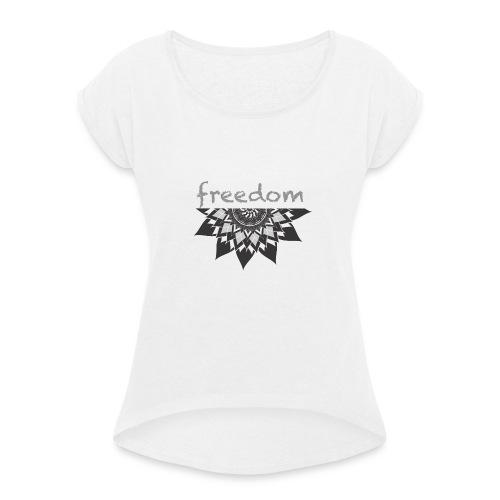 free vibration - Maglietta da donna con risvolti
