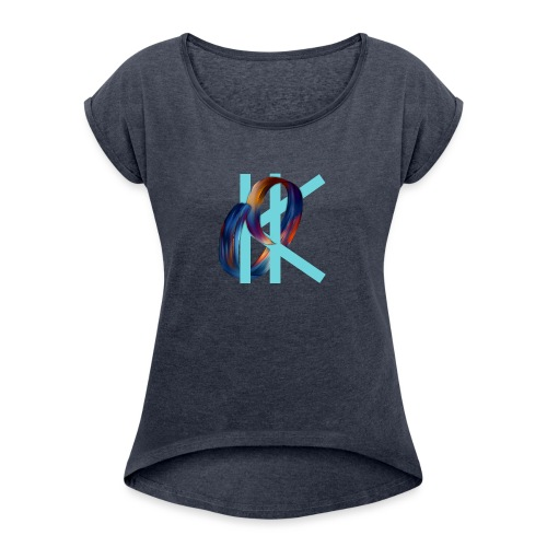 OK - Women's T-Shirt with rolled up sleeves