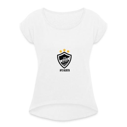 AFC Alosta Case 5/5S - Vrouwen T-shirt met opgerolde mouwen