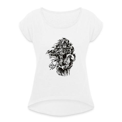 Bigfoot - Maglietta da donna con risvolti