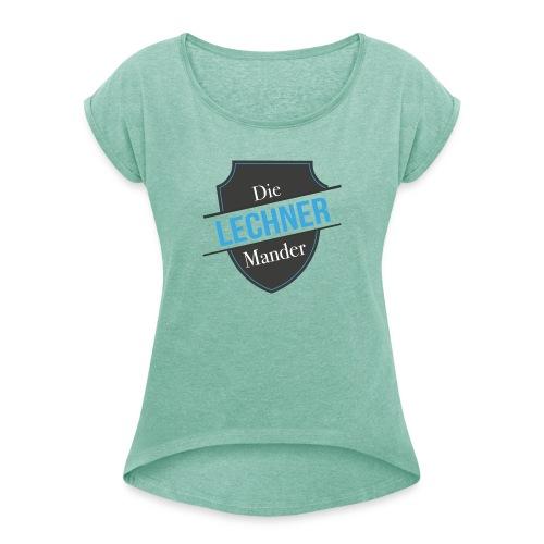 Die Lechner Mander - Frauen T-Shirt mit gerollten Ärmeln
