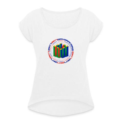 W64 - Frauen T-Shirt mit gerollten Ärmeln