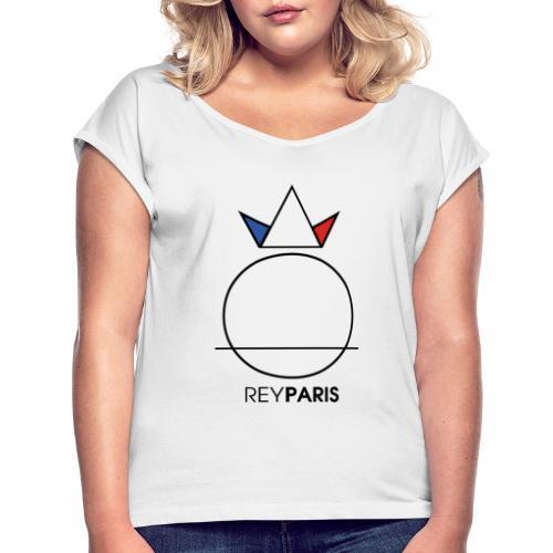 REYPARIS COLOR - LIMITED EDITION - T-shirt à manches retroussées Femme