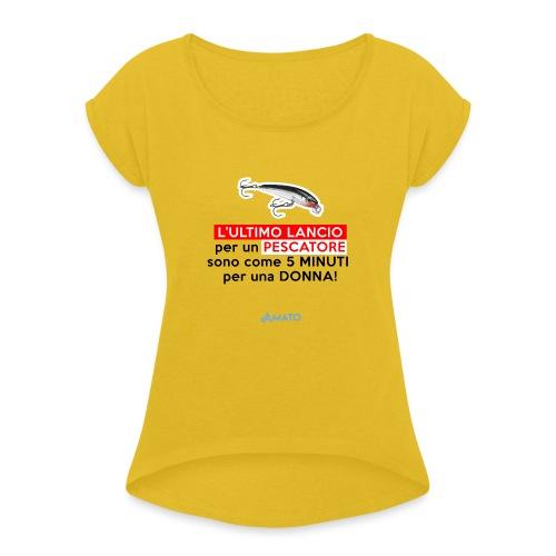 L'ultimo lancio - Maglietta da donna con risvolti