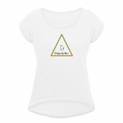 Rina Stark Apparel - T-shirt à manches retroussées Femme