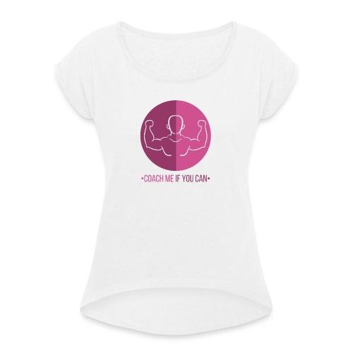 Muscle Rose - T-shirt à manches retroussées Femme