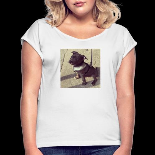 Pablo - Frauen T-Shirt mit gerollten Ärmeln