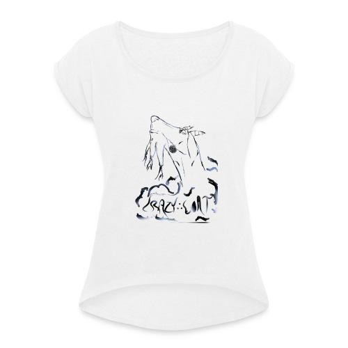 Crazy Goat 1 - T-shirt à manches retroussées Femme