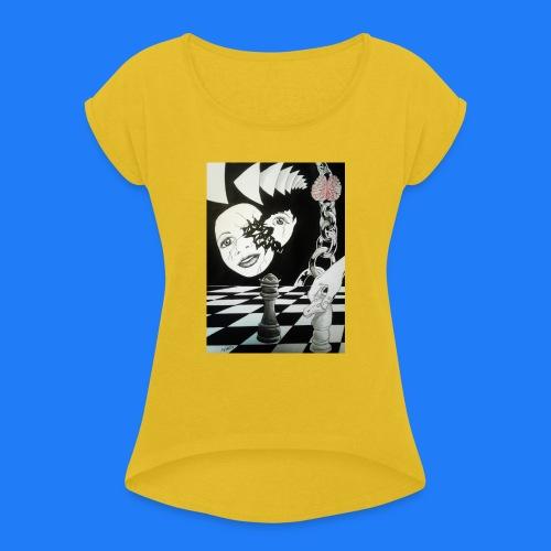 MANIPULATION - T-shirt à manches retroussées Femme