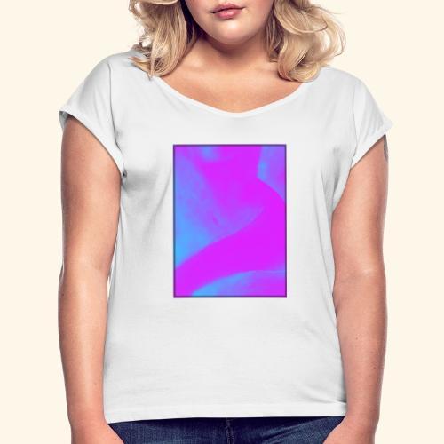 confidentiel A - T-shirt à manches retroussées Femme