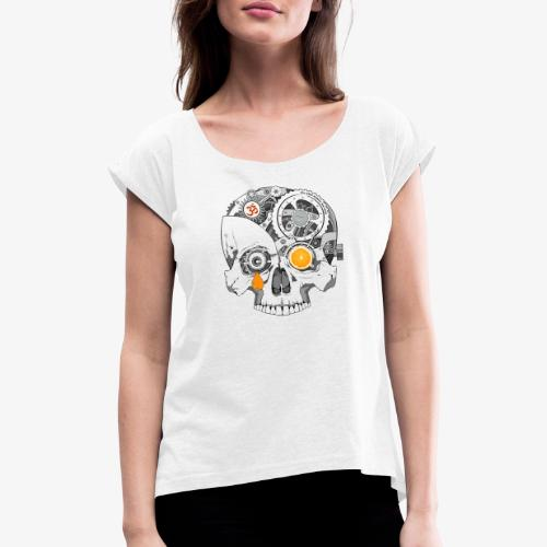 TickTock - Women's T-Shirt with rolled up sleeves
