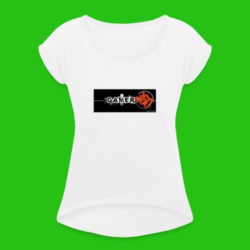 GAMER360 - Maglietta da donna con risvolti