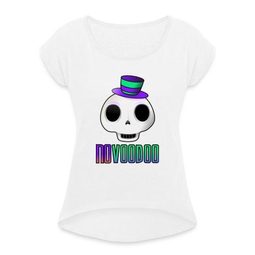 vodooo - Maglietta da donna con risvolti