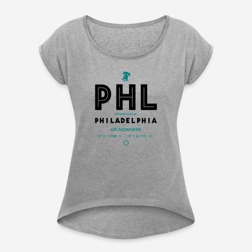 Philadelphia o mai più! - Maglietta da donna con risvolti