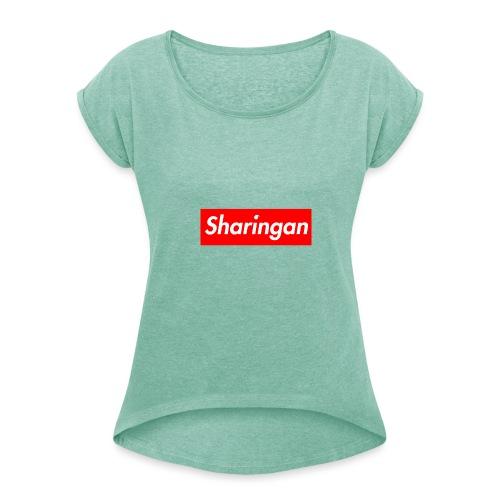 Sharingan tomoe - T-shirt à manches retroussées Femme