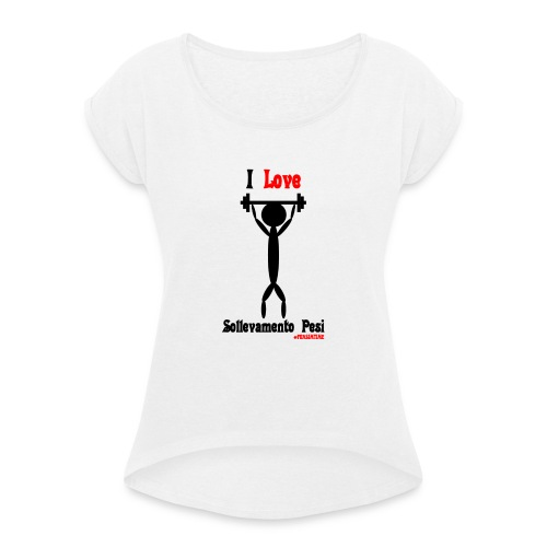 Sport #FRASIMTIME - Maglietta da donna con risvolti