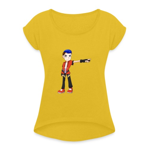 Terrpac - Women's T-Shirt with rolled up sleeves