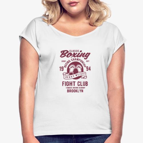 Classic Boxing - T-shirt à manches retroussées Femme
