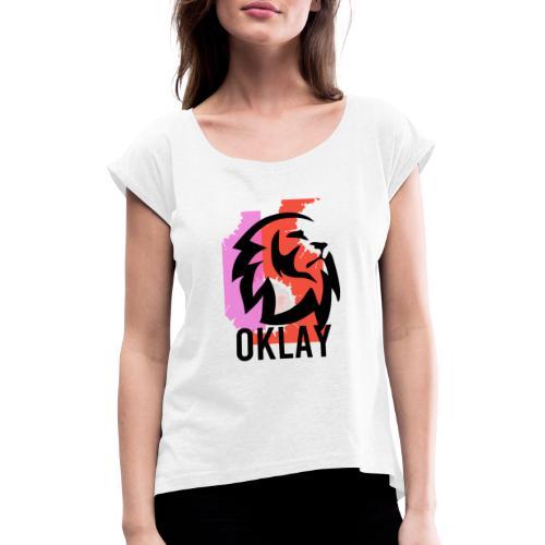 CAMISETA OKLAY GO - Camiseta con manga enrollada mujer
