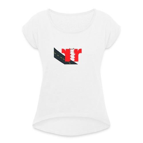 Radical Travel - Dame T-shirt med rulleærmer