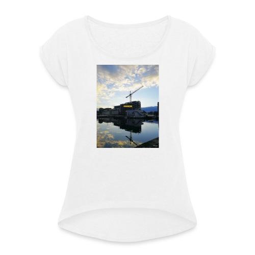 Dublino - Maglietta da donna con risvolti