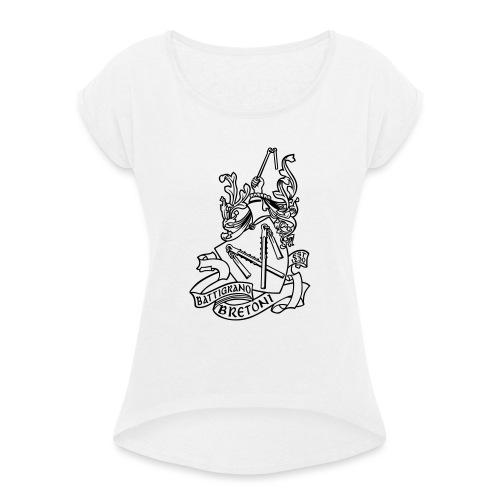 BATTIGRANO - Maglietta da donna con risvolti