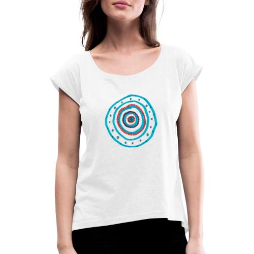 Simple - Women's T-Shirt with rolled up sleeves