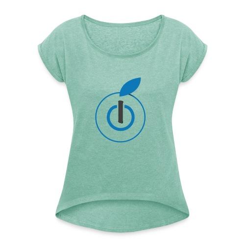 Logo AZ - Maglietta da donna con risvolti