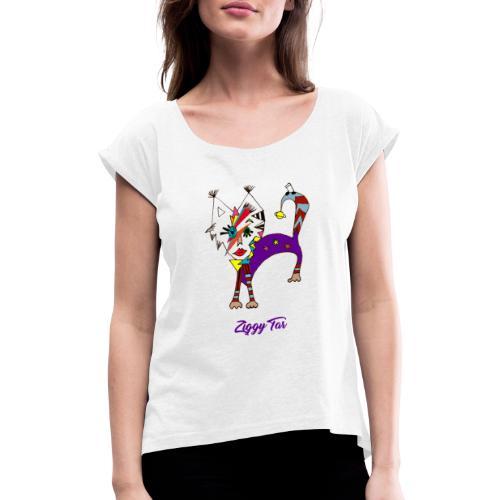 Ziggy Tar - T-shirt à manches retroussées Femme