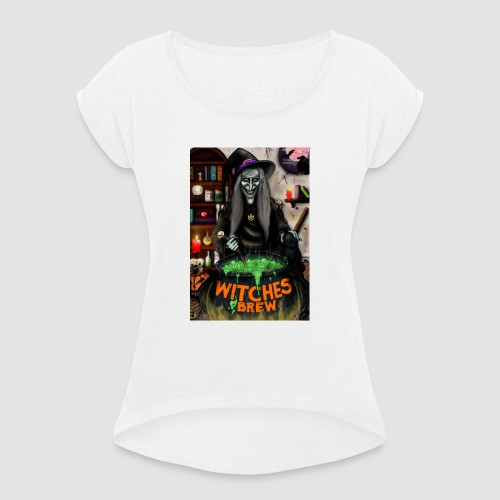 The Witch - Women's T-Shirt with rolled up sleeves
