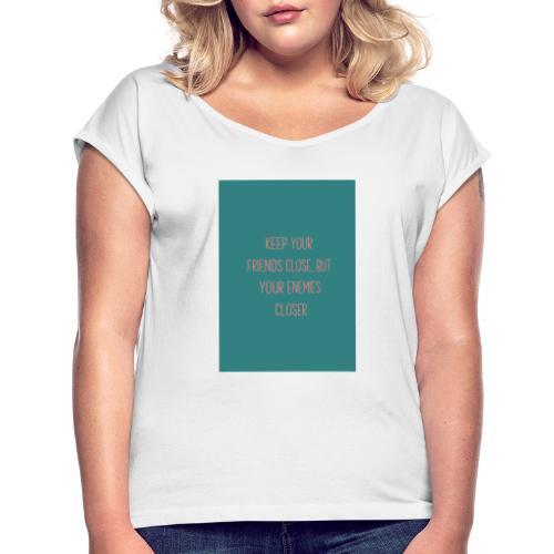 ctf 141581 triangle - Camiseta con manga enrollada mujer