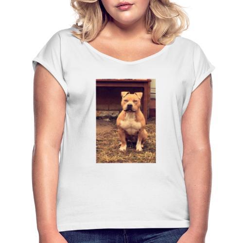 Screenshot 20191017 024338 - T-shirt à manches retroussées Femme