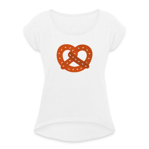 bretzel - T-shirt à manches retroussées Femme