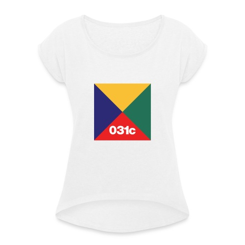 multicolor - T-shirt à manches retroussées Femme