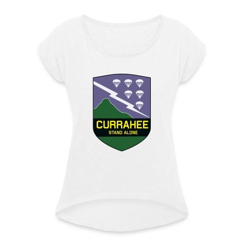 currahee - T-shirt à manches retroussées Femme
