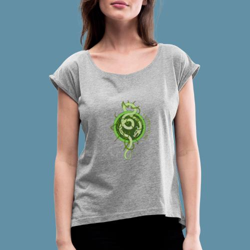 Jormungand logo png - Maglietta da donna con risvolti